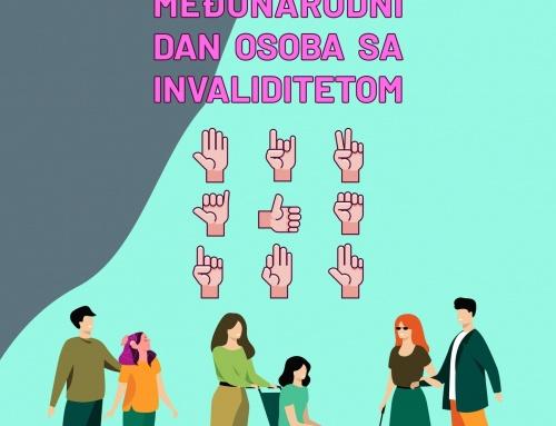 3. Decembar – Međunarodni dan osoba sa invaliditetom